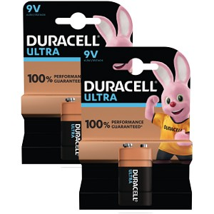 Duracell Ultra Power 9V Paquete de 2