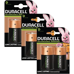 Baterias recargables multi proposito duracell direct es - Tipos de pilas recargables ...