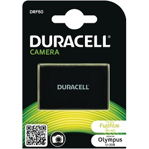 Producto compatible Duracell DRF60 para sustituir Batería NP-60 Olympus