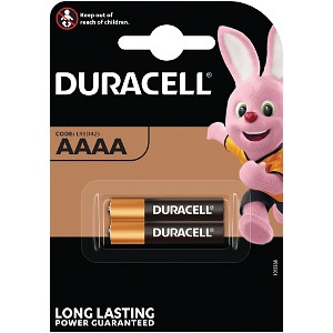Producto compatible Duracell MX2500 para sustituir Batería AAAA Duracell