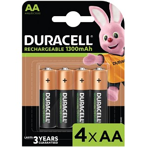 Producto compatible Duracell HR6-B para sustituir Batería B-162 Toma