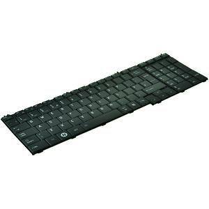 Satellite C650-15V Keyboard - UK Black