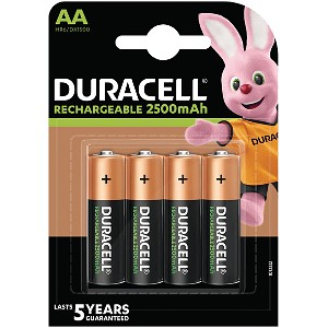 Producto compatible Duracell HR06-P para sustituir Batería B-162 Philips