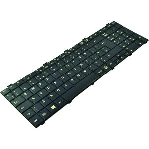 FUJ:CP612621-XX Keyboard UK