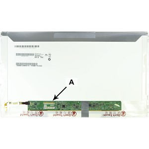 Producto compatible 2-Power para sustituir Pantalla LP156WH4(TL)(N1) Dell