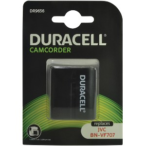 Producto compatible Duracell DR9656 para sustituir Batería BN-VF707US JVC
