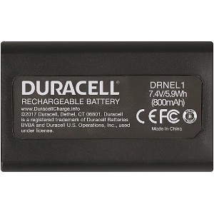 Producto compatible Duracell DRNEL1 para sustituir Batería DR9570 Maxell