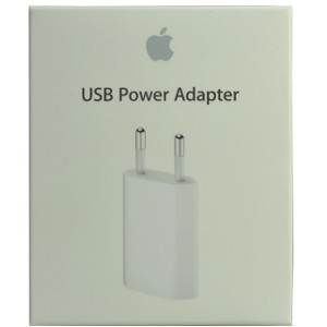 iPhone 3G 5W USB Power Adapter (EU) - Bulk