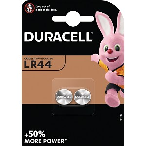 Producto compatible Duracell LR44 para sustituir Batería RW8 Duracell