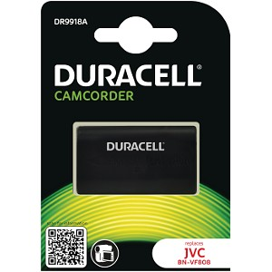 Producto compatible Duracell DR9918A para sustituir Batería BN-VF815 JVC