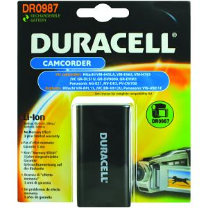 Producto compatible Duracell DR0987 para sustituir Batería BN-V812U JVC