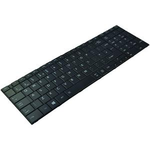 Satellite C850-132 Keyboard - UK (Black)