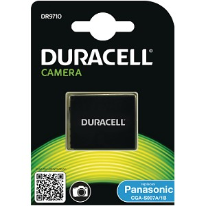 Producto compatible Duracell DR9710 para sustituir Batería CGR-S007E Panasonic
