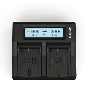 DM-MV100X Canon BP-511 Dual Battery Charger