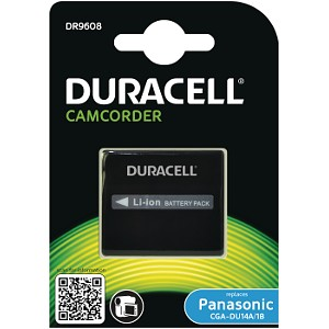 Producto compatible Duracell DR9608 para sustituir Batería DR9609 Panasonic