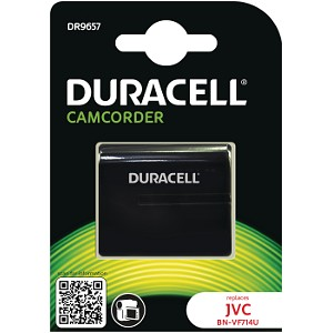 Producto compatible Duracell DR9657 para sustituir Batería BN-VF707US JVC