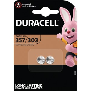 Producto compatible Duracell D357 para sustituir Batería SR44 Duracell