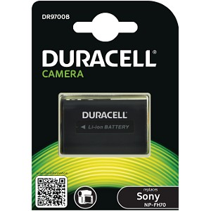 Producto compatible Duracell DR9700B para sustituir Batería NP-FH100 Sony
