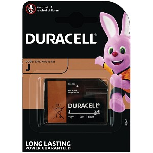 Producto compatible Duracell 7K67 para sustituir Batería J Duracell