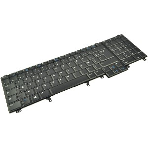 Latitude E6540 Backlit Keyboard (French)