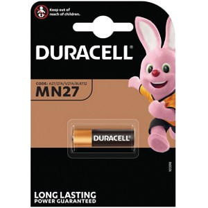 Producto compatible Duracell MN27 para sustituir Batería 27A-C1 Duracell