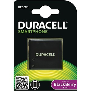 Producto compatible Duracell para sustituir Batería E-M1 BlackBerry