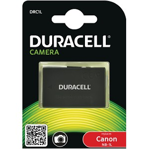 Producto compatible Duracell DRC1L para sustituir Batería B-9568 Canon