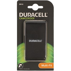 Producto compatible Duracell DR10 para sustituir Batería B-9741 JVC