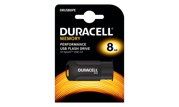 Duracell 8GB USB 2.0 Flash drive
