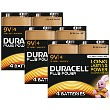 Duracell Plus Power 9V PP3 Paquete de 12
