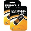 Duracell memoria flash a 64gb x 2