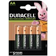 Duracell Pre-Charged AA 2500mAh 4 Paq